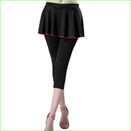 Legging Tennis Femme Black Red L Black Red XL Black Red XXL Black Red XXXL