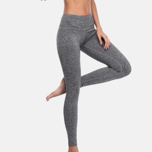 Legging Yoga Porter Cuir
