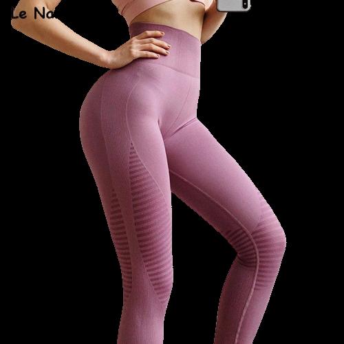 legging yoga femmes cuir