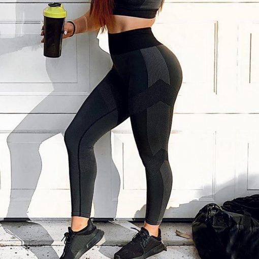 Legging Yoga Court Stretch black S black M black L black XL