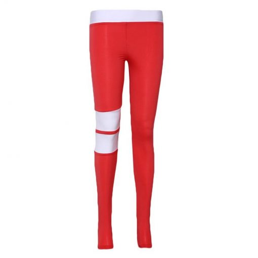 Cuir Legging red S red M red L red XL
