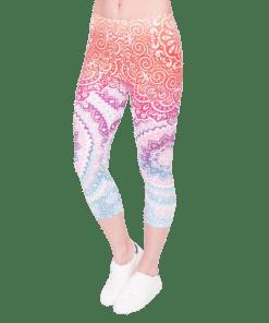 legging azteque fitness ajoure