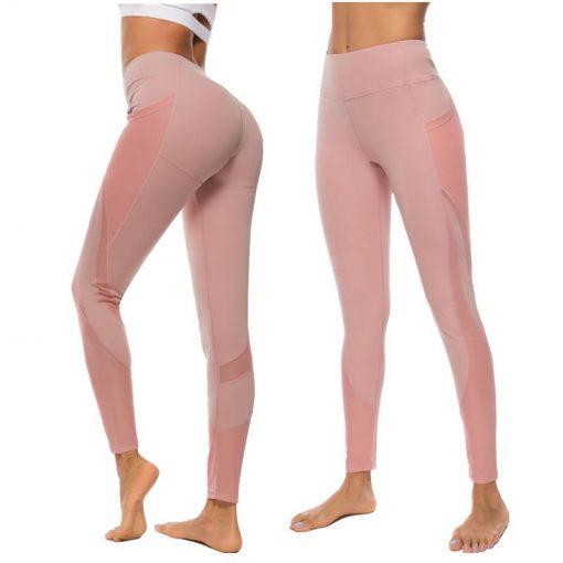 Legging Sport Taille Haute Poche