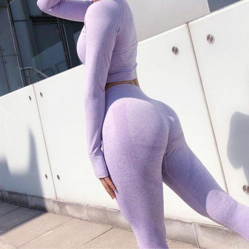 Ensemble Legging Sport Fitness Femme
