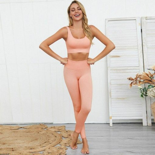 Ensemble Sport Legging Pink S Pink M Pink L