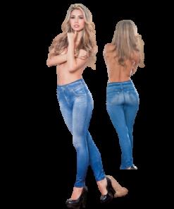 Pantalon Legging Velours