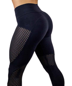 legging yoga cuir