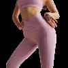 legging yoga fesses blanc