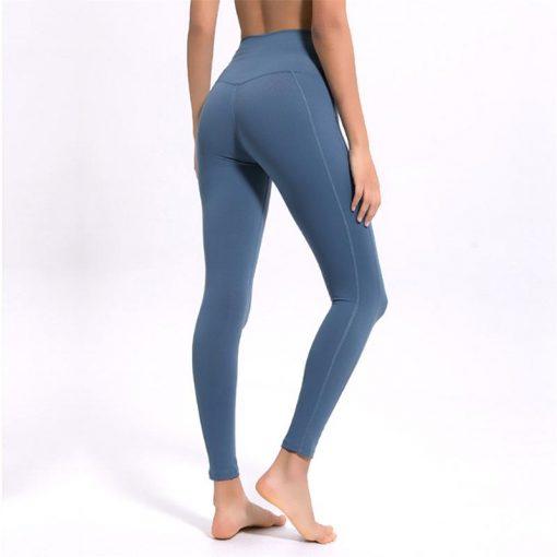 Legging Sport Couleur Blue S Blue M Blue L