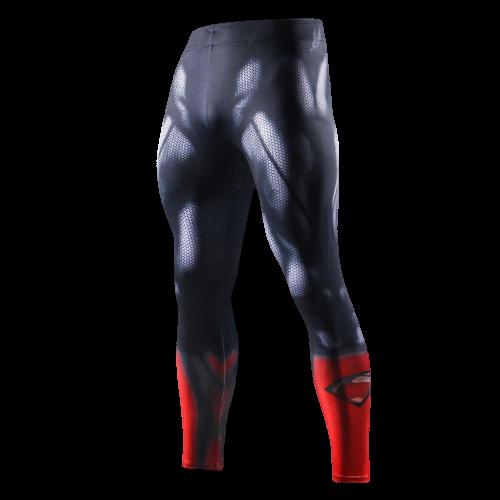legging sudation bleu superman