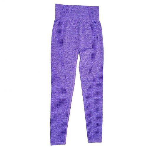 Legging Yoga Coloré Sport 9149 Purple S 9149 Purple M 9149 Purple L