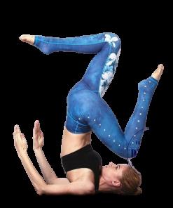 legging yoga compression sport femme