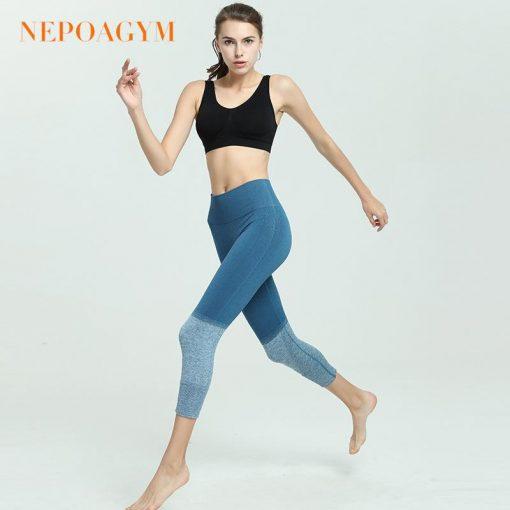 Legging Yoga Fitness Amincissant Blue XS Blue S Blue M