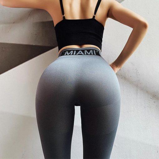 Legging Femme Taille Haute Gray S Gray M Gray L