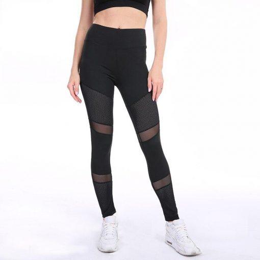 Legging Yoga Fluo Black S Black M Black L Black XL