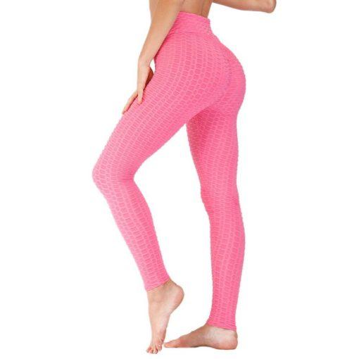 Legging Pantalon Compression Rose S Rose M Rose L Rose XL