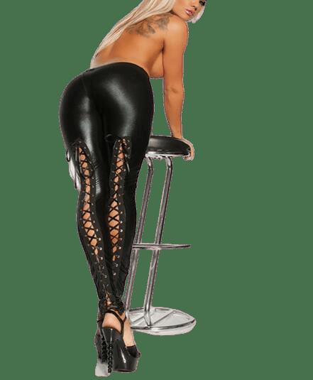 jean legging femme