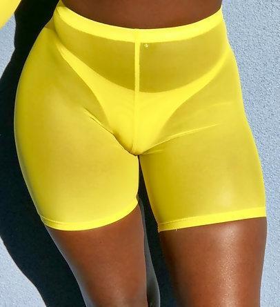 Legging Court Ado Yellow S Yellow M Yellow L Yellow XL