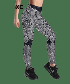 legging azteque sport mandala