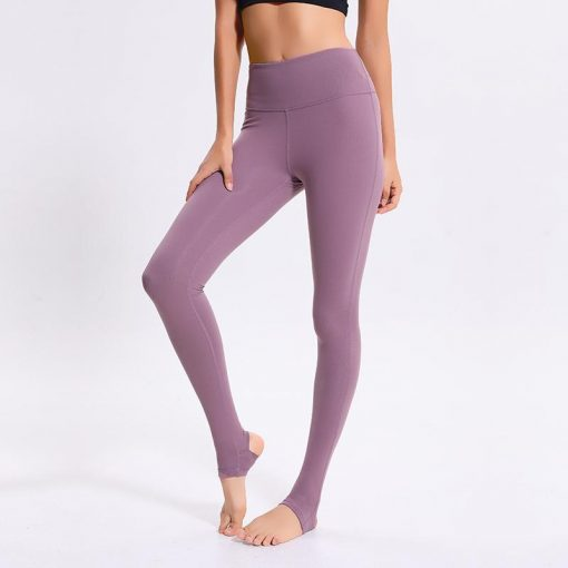 Legging Yoga Cuir Taille Haute Pink S Pink M Pink L