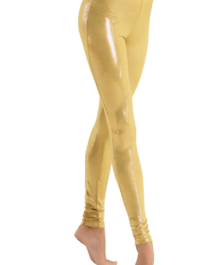 legging danse brillant bleu