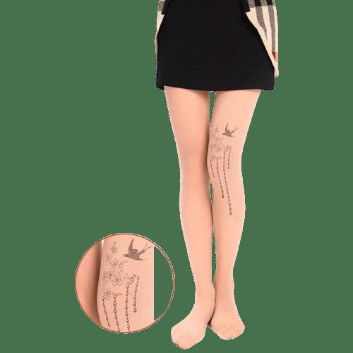 dessin legging blanc