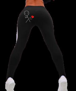 legging sport femme motif