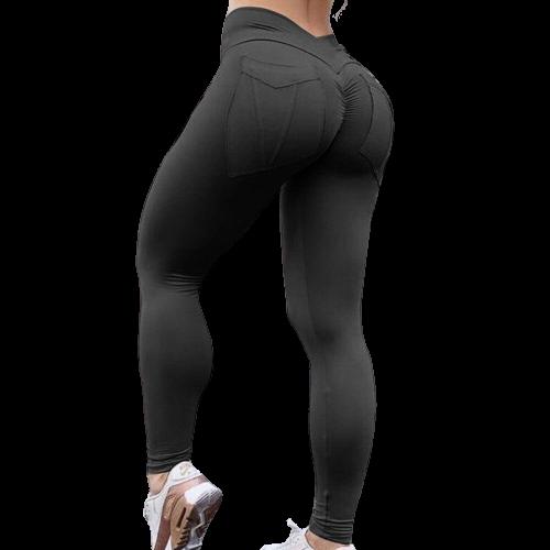 pantalon blanc legging musculation