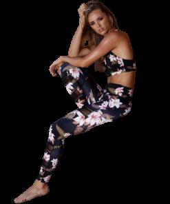legging sport floral