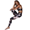 legging yoga fitness floral
