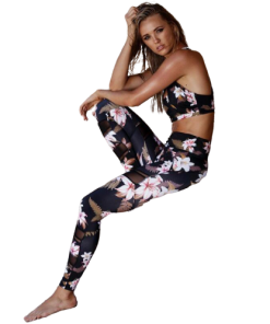legging yoga fitness floral