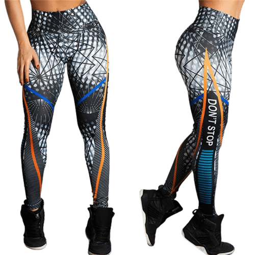 legging cuir sport