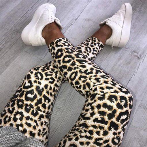 Legging Femme Serpent Leopard S Leopard M Leopard L Leopard XL