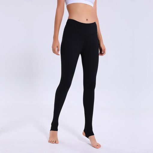 Legging Yoga Cuir Taille Haute Black S Black M Black L