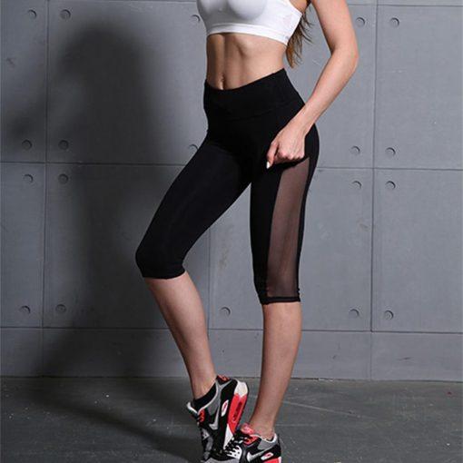 Fitness Legging Jambière Black Calf S Black Calf M Black Calf L Black Calf XL