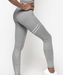 legging anti cellulite blanc