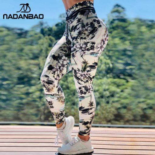 Legging De Sudation Fitness Impression NADANBAO