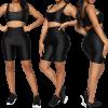 legging short femme