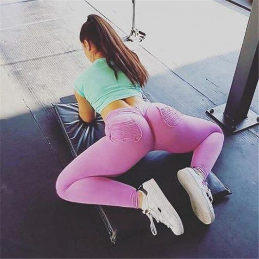 Legging Sexy Sport Femme Musculation purple S purple M purple L purple XL