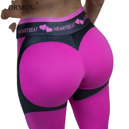 legging sexy coeur fille