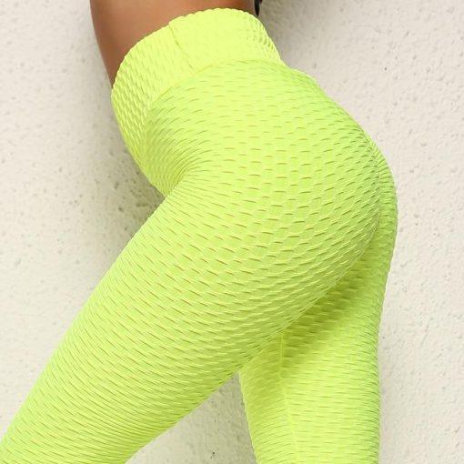 Legging Anti Cellulite Texture Collant Green S Green M Green L Green XL