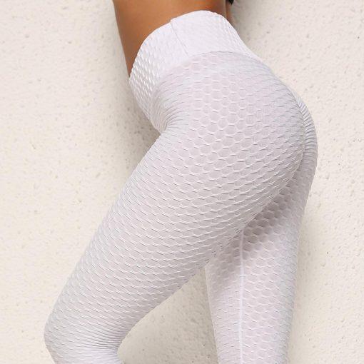 Legging Anti Cellulite Texture Collant White S White M White L White XL