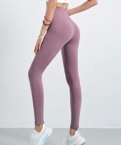 Legging Yoga Amincissant Taille Haute