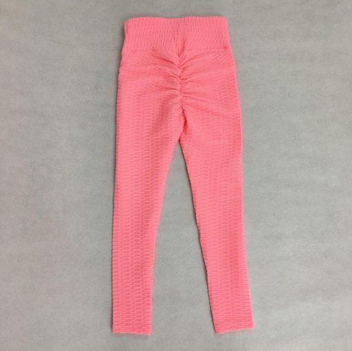 Legging Anti Cellulite Texture Collant Pink S Pink M Pink L Pink XL