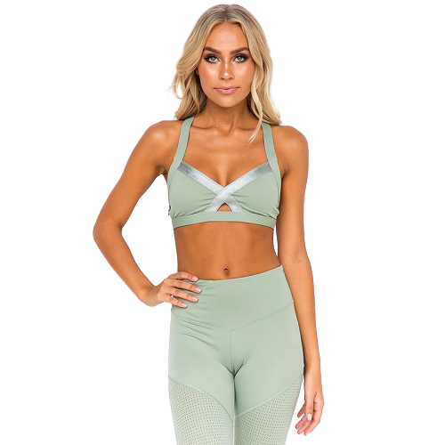 legging yoga ensemble cotelé
