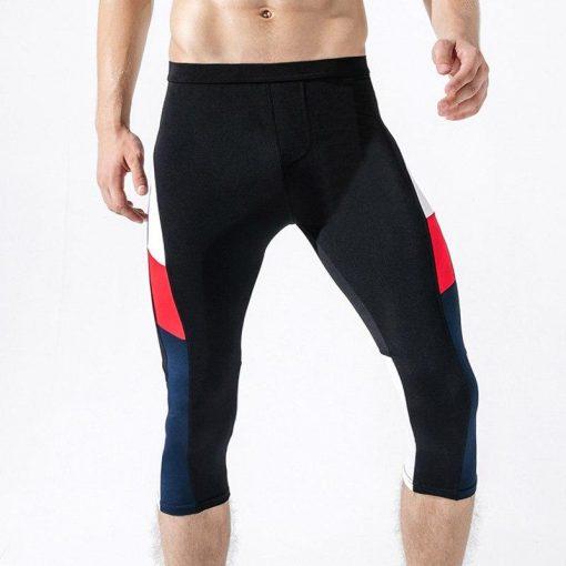 Legging Yoga Homme Fitness Black M Black L Black XL Black XXL