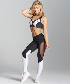 Legging Danse Amincissant Blanc