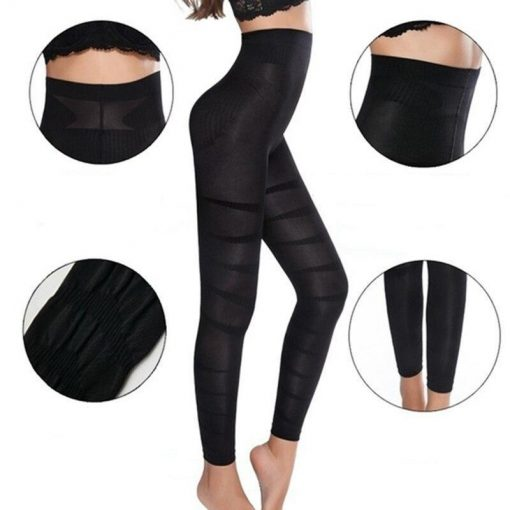 Legging Anti Cellulite Taille Haute Minceur