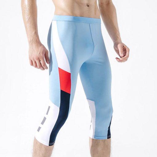 Legging Yoga Homme Fitness Sky Blue M Sky Blue L Sky Blue XL Sky Blue XXL