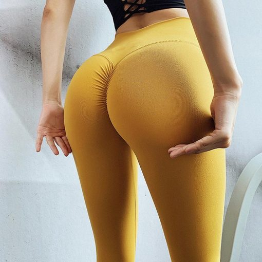 Legging Equitation Taille Haute Yellow S Yellow M Yellow L